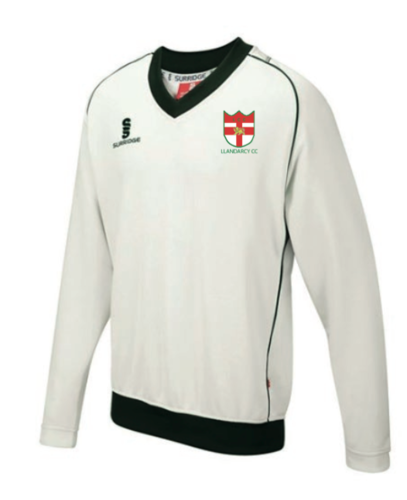 Llandarcy Cricket Curve Long Sleeve Sweater