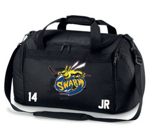 Manchester Swarm Black Bag (All Embroidery)