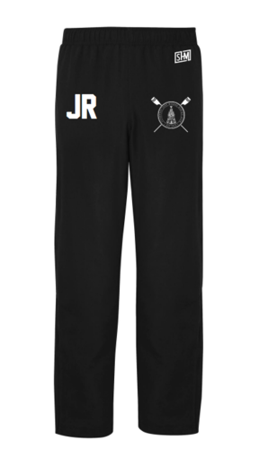 LJMU Rowing Black Womens Trackies (Logo Embroidery, Everything Else Print)